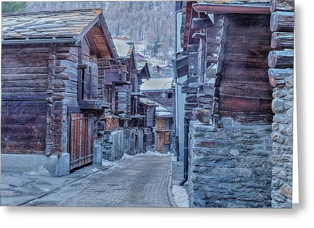 Zermatt - Switzerland Greeting Card by Joana Kruse