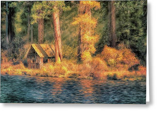 Metolius Autumn Greeting Card
