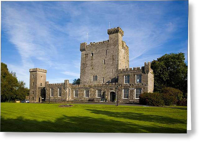 1467 Knappogue Castle, Renovated Greeting Card by Panoramic Images