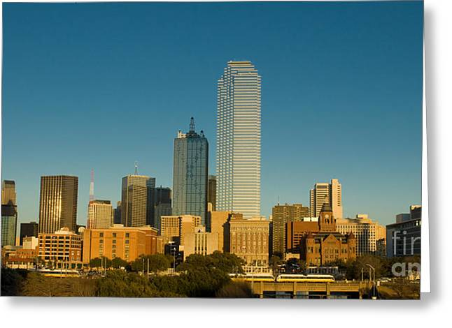 Dallas Texas  Greeting Card by Anthony Totah