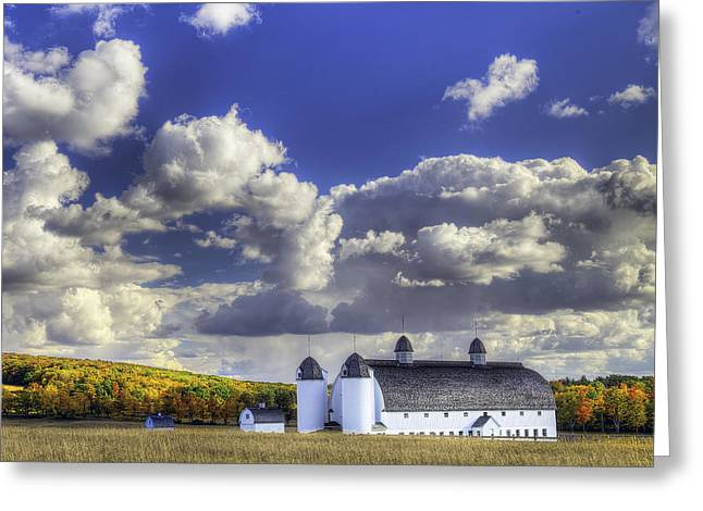 Dh Day Farm Greeting Card by Twenty Two North Photography