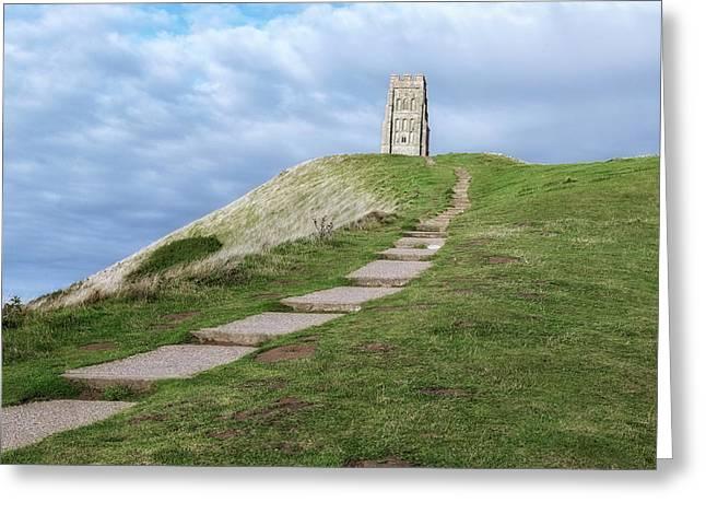 Glastonbury Tor - England Greeting Card