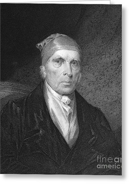 James Madison (1751-1836) Greeting Card by Granger