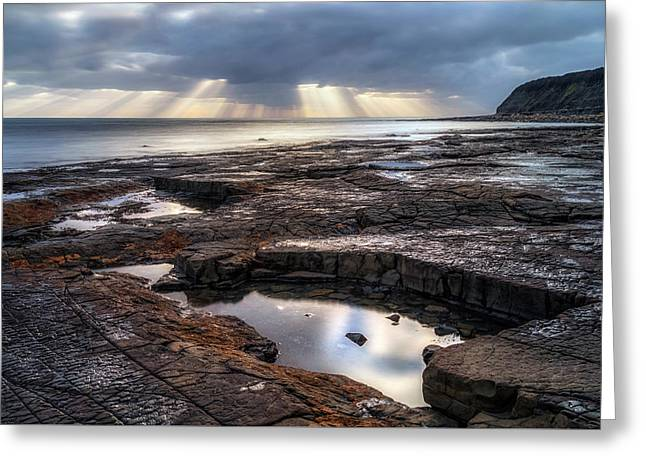 Kimmeridge Bay - England Greeting Card by Joana Kruse