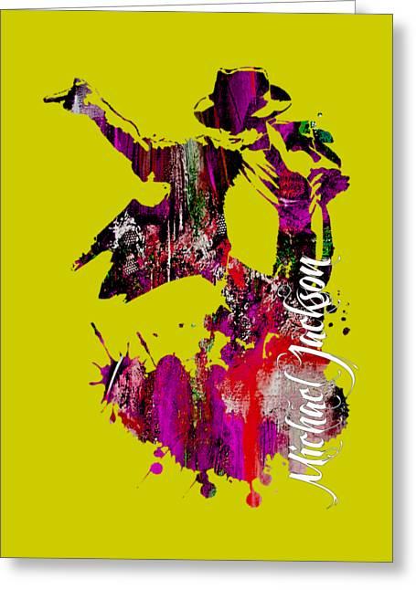 Michael Jackson Collection Greeting Card