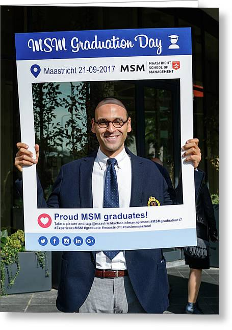 Msm Graduation Ceremony 2017 Greeting Card