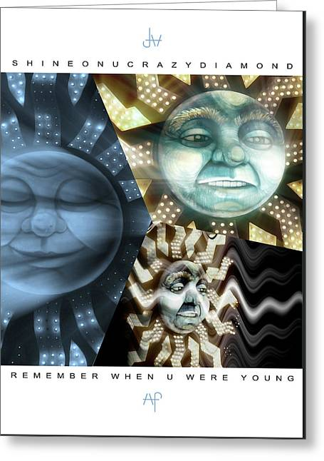 15 Shine On You Crazy Diamond Part1 - Remember Greeting Card