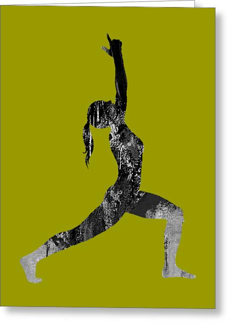 Yoga Collection Greeting Card