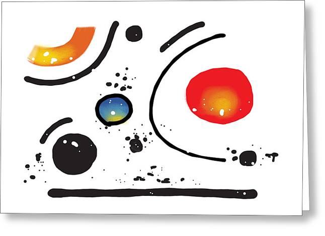 150912aa Greeting Card by Toshio Sugawara