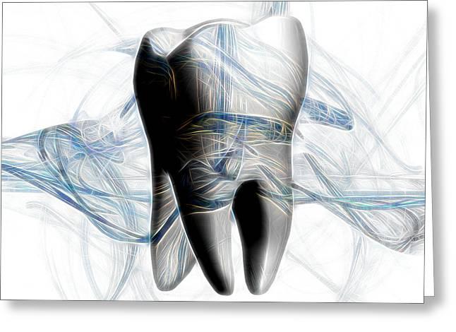 Anatomy Art Greeting Card