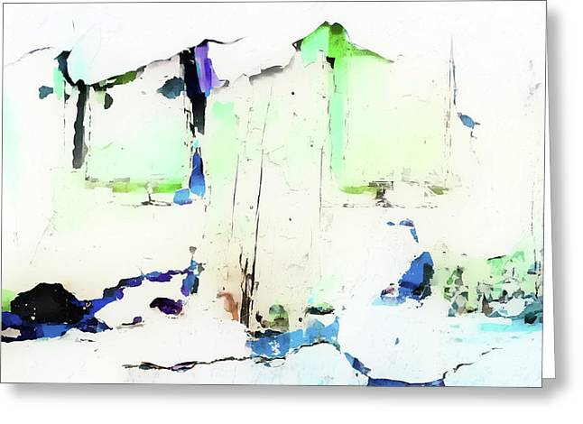 Abstract Background  Greeting Card by Tom Gowanlock