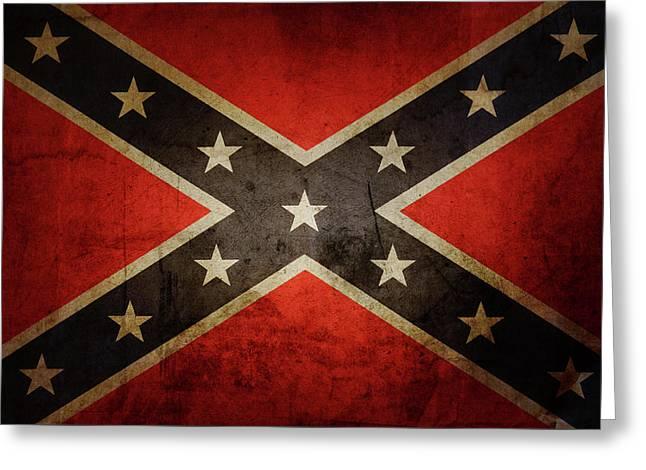 Confederate Flag Greeting Card
