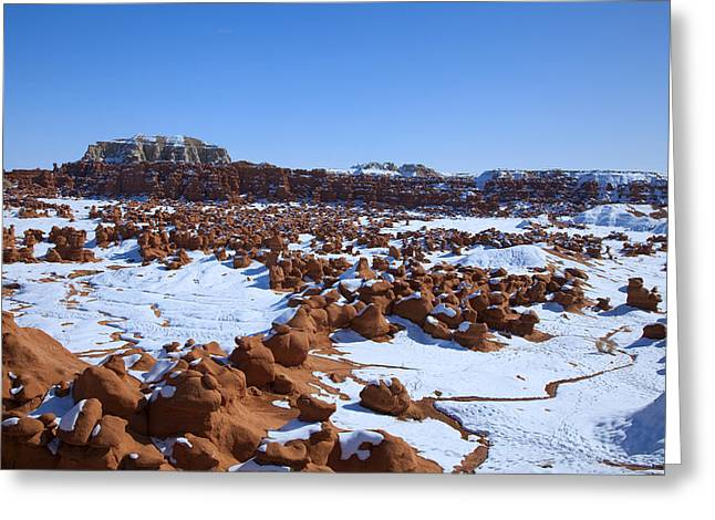 Goblin Valley Greeting Card by Mark Smith
