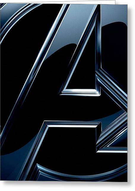 The Avengers 2012 Greeting Card by Unknown