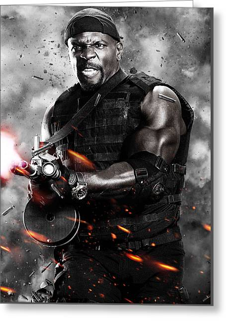 The Expendables 2 2012  Greeting Card