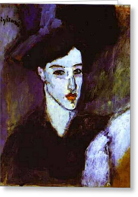 Amedeo Modigliani  Greeting Card