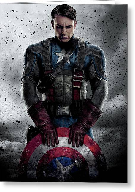 Captain America Civil War 2016 Greeting Card