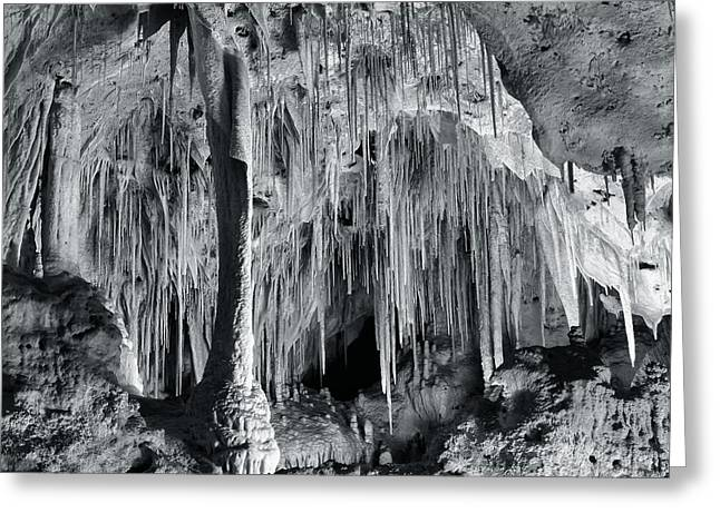 Carlsbad Caverns Greeting Card by Stephen  Vecchiotti