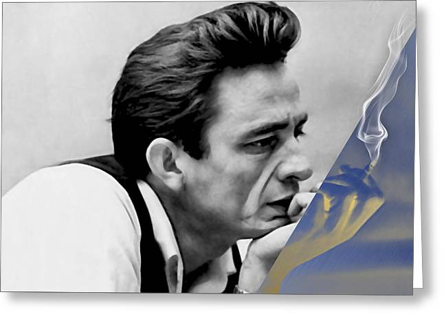 Johnny Cash Collection Greeting Card