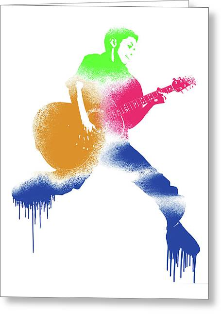 Paint Drips Greeting Card
