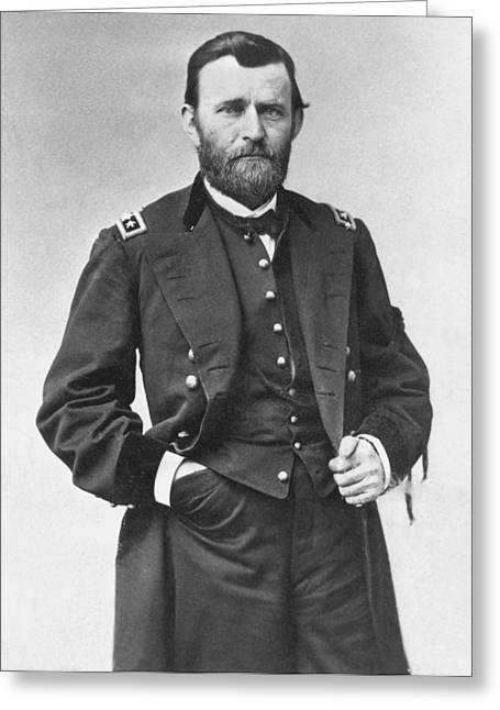 Republican Party Greeting Cards - Ulysses S. Grant (1822-1885) Greeting Card by Granger