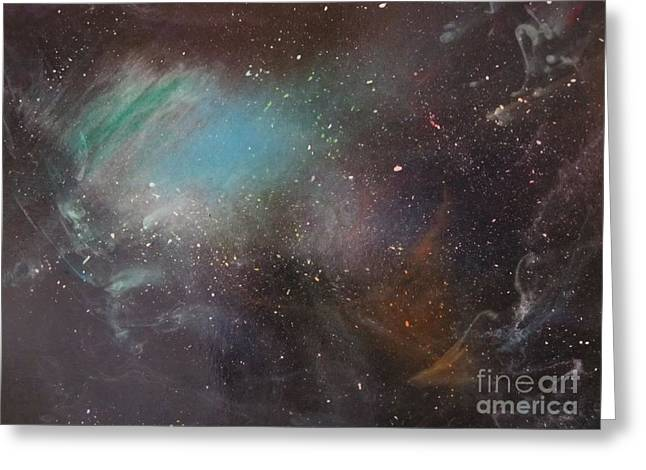 170,000 Light Years From Home Greeting Card by Lorraine Centrella