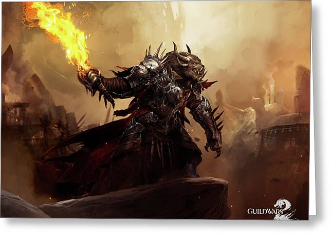 17967 Guild Wars Guild Wars 2 Greeting Card by F S