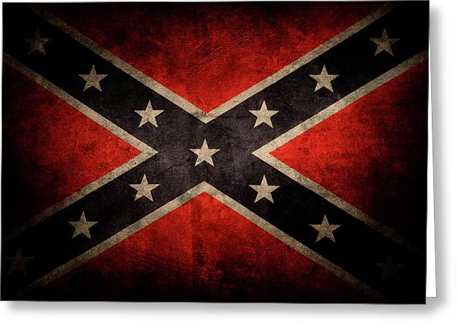 Confederate Flag 7 Greeting Card