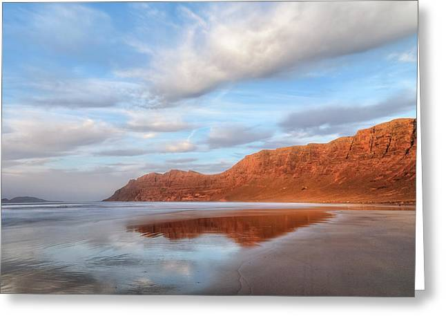 Famara - Lanzarote Greeting Card by Joana Kruse