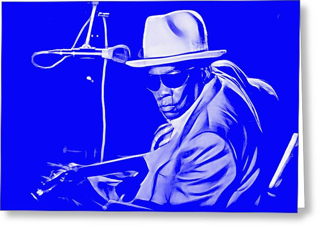 John Lee Hooker Collection Greeting Card by Marvin Blaine