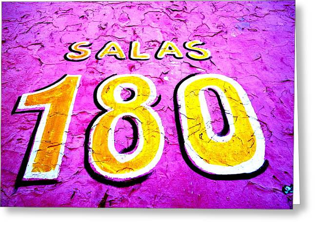 Number 18 Greeting Cards - 180 Santiago Pinked  Greeting Card by Funkpix Photo Hunter