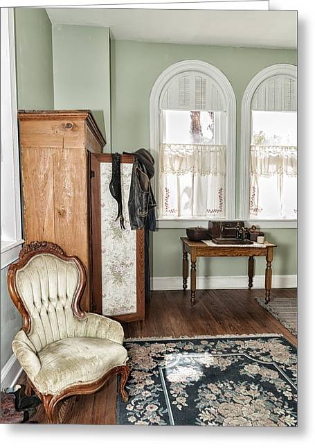 1800 Closet And Chair Greeting Card