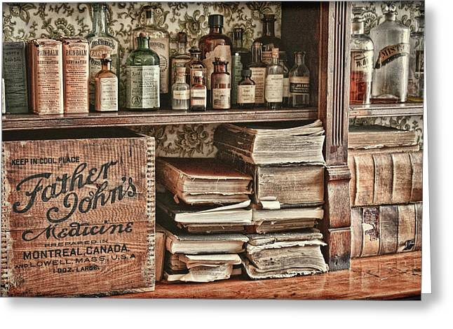 18th Century Pharmacy Greeting Card