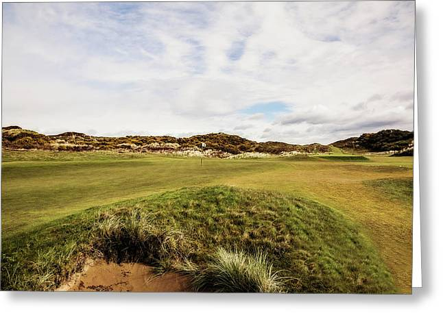 2nd Green Royal County Down Greeting Card by Scott Pellegrin