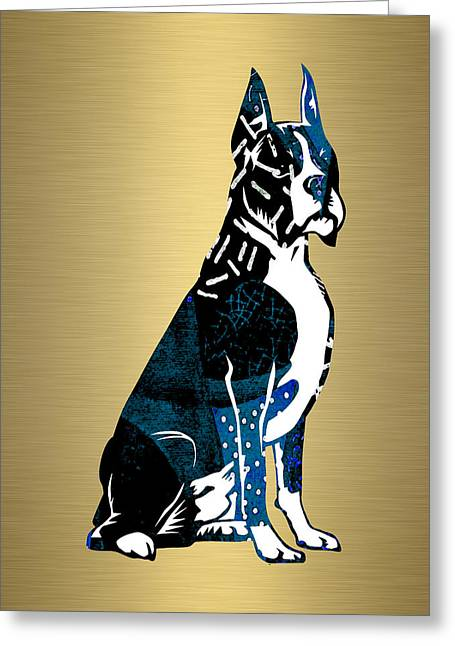 Boxer Collection Greeting Card