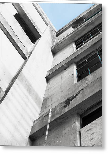 Derelict Building Greeting Card