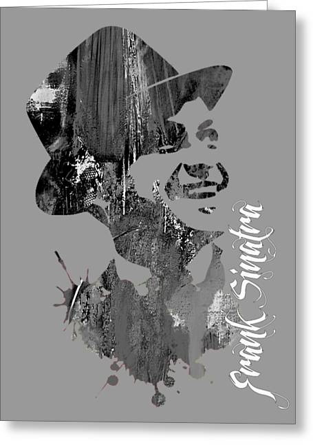 Frank Sinatra Collection Greeting Card