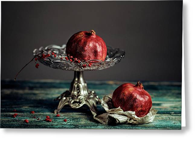 Pomegranate Greeting Card