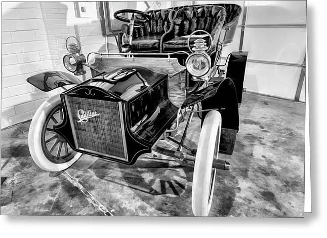 1904 Cadillac Tonneau 10 Hp V1 Greeting Card by John Straton