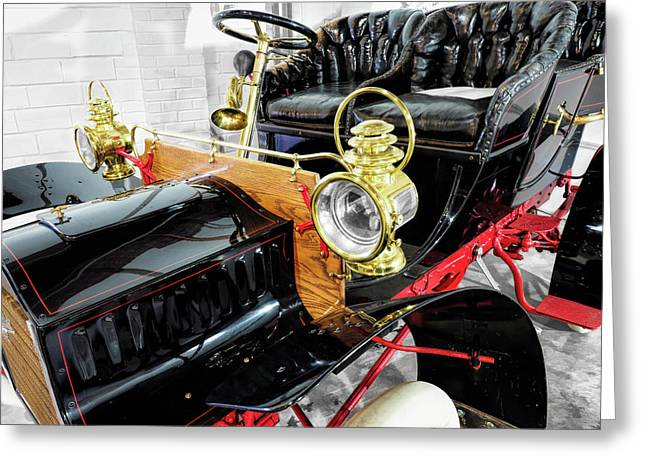 1904 Cadillac Tonneau 10 Hp V4 Greeting Card by John Straton
