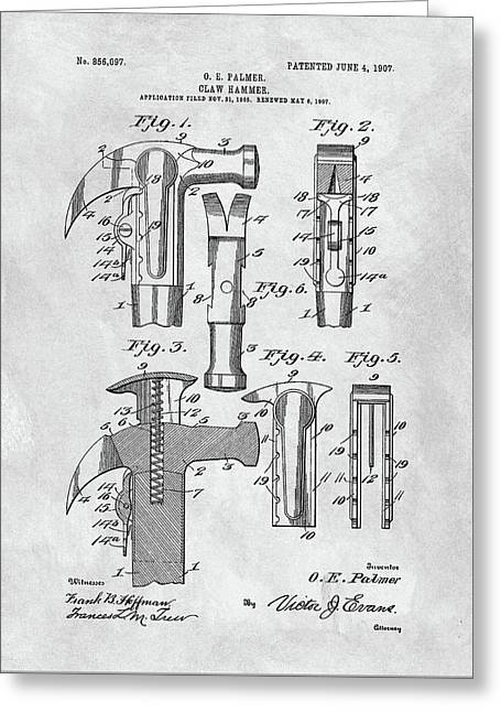 1907 Hammer Patent Greeting Card by Dan Sproul