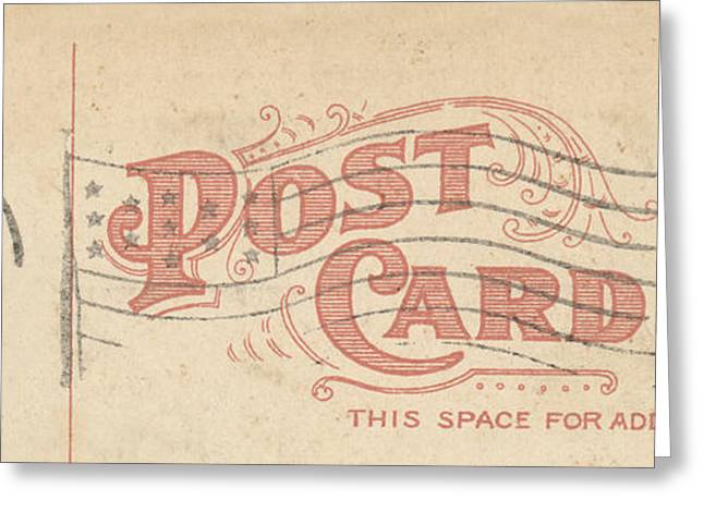 1909 Postcard Greeting Card