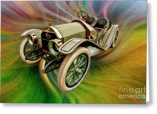 1912 Moon 30 Raceabout Greeting Card