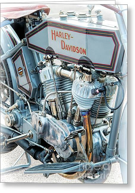 1915 Harley Davidson 11f Greeting Card