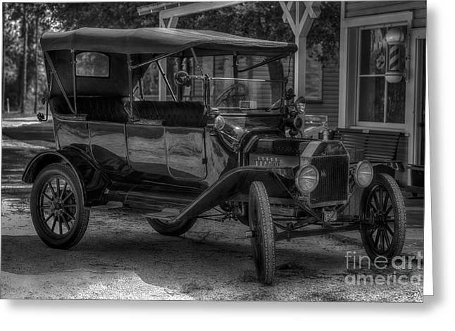 1916 Ford - Model T Greeting Card by Liane Wright