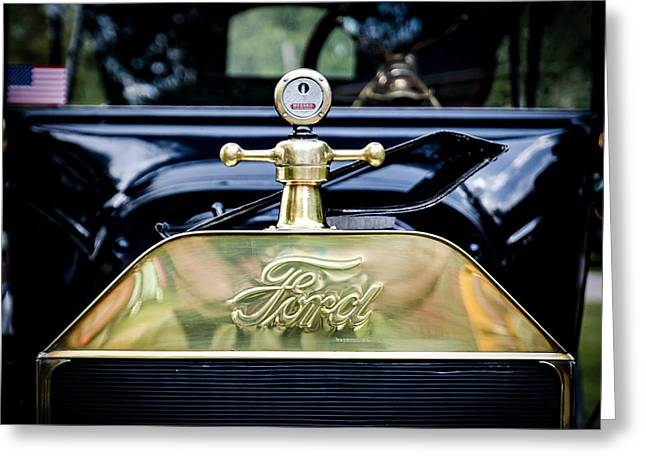 1916 Ford Model T Touring Tin Lizzie Greeting Card by Jack R Perry