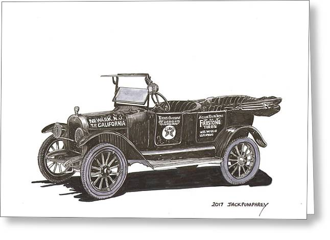 Maxwell Touring Sedan Greeting Card