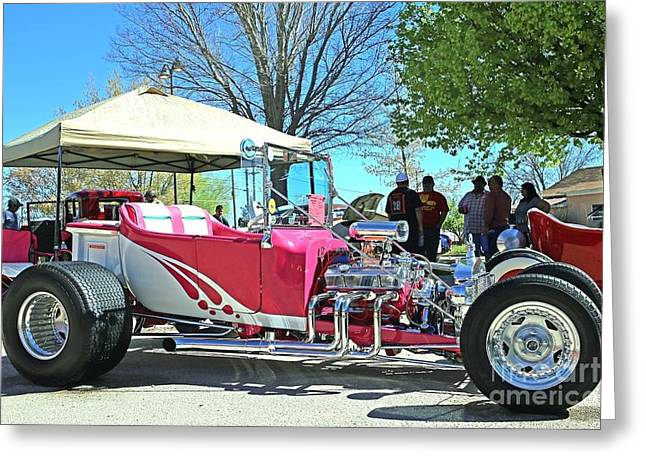 1923 Ford Model T Greeting Card