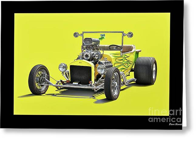1923 Ford Roadster Pickup Greeting Card