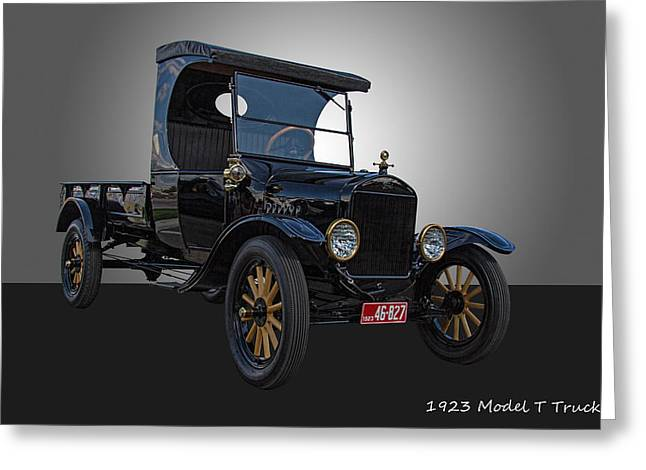 1923 Model T Ford Truck Greeting Card